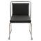 Cascade Stackable Dining Chair - Black (Set of 2) - LMS-CH-CASC-BK2