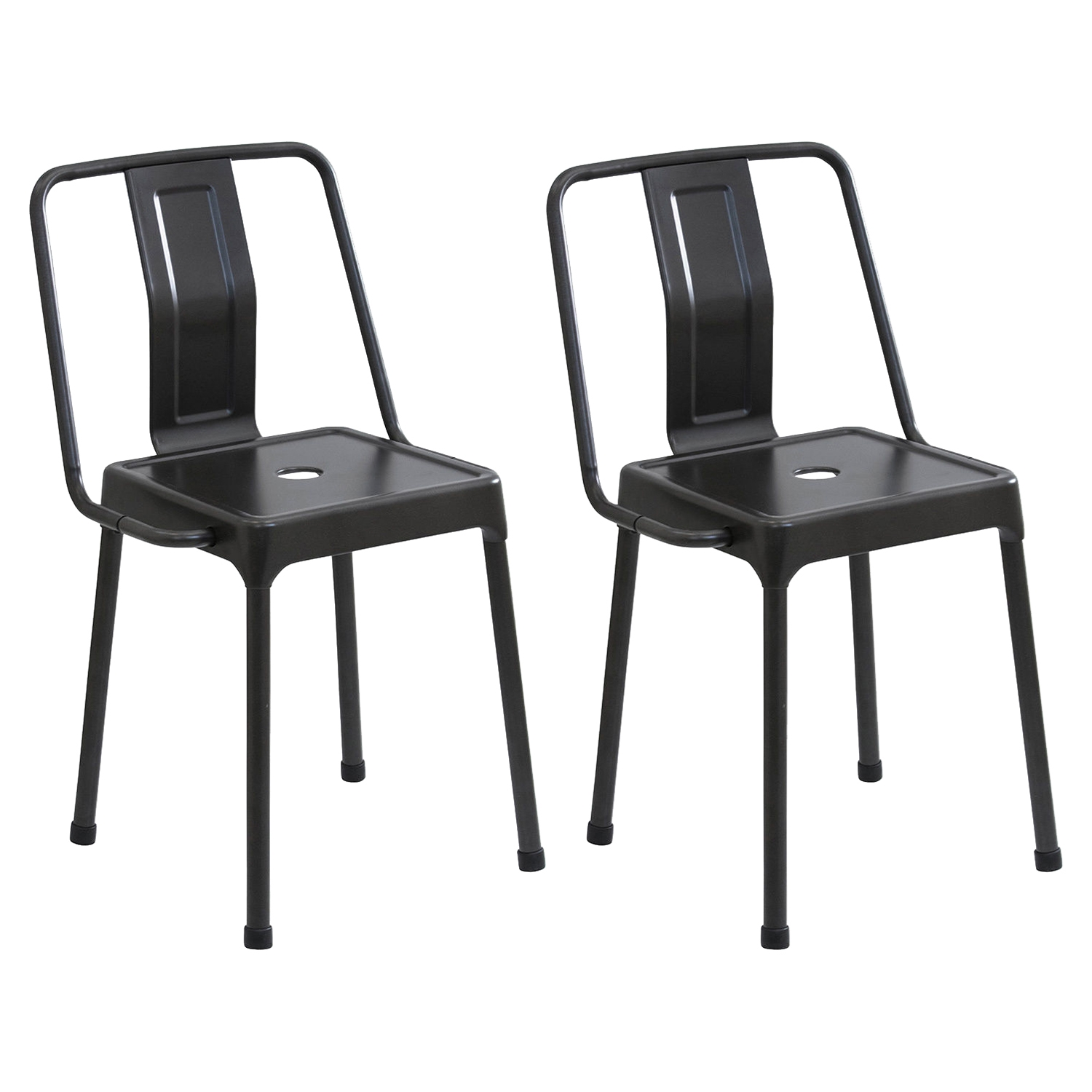 Energy Chair - Carbon Black (Set of 2)