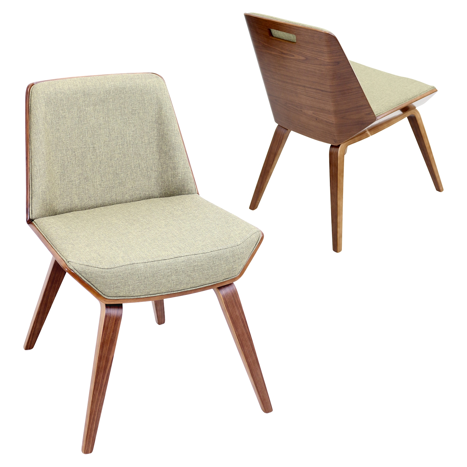 Corazza Dining Chair - Green - LMS-CH-CRZZ-WL-GN