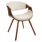 Curvo Dining Chair - Cream