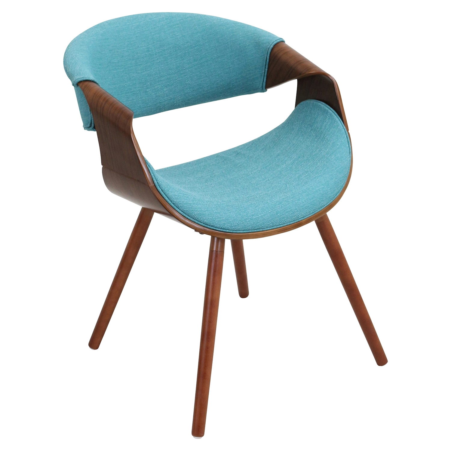 Curvo Dining Chair - Teal