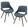 Fabrico Dining Chair - Blue (Set of 2)