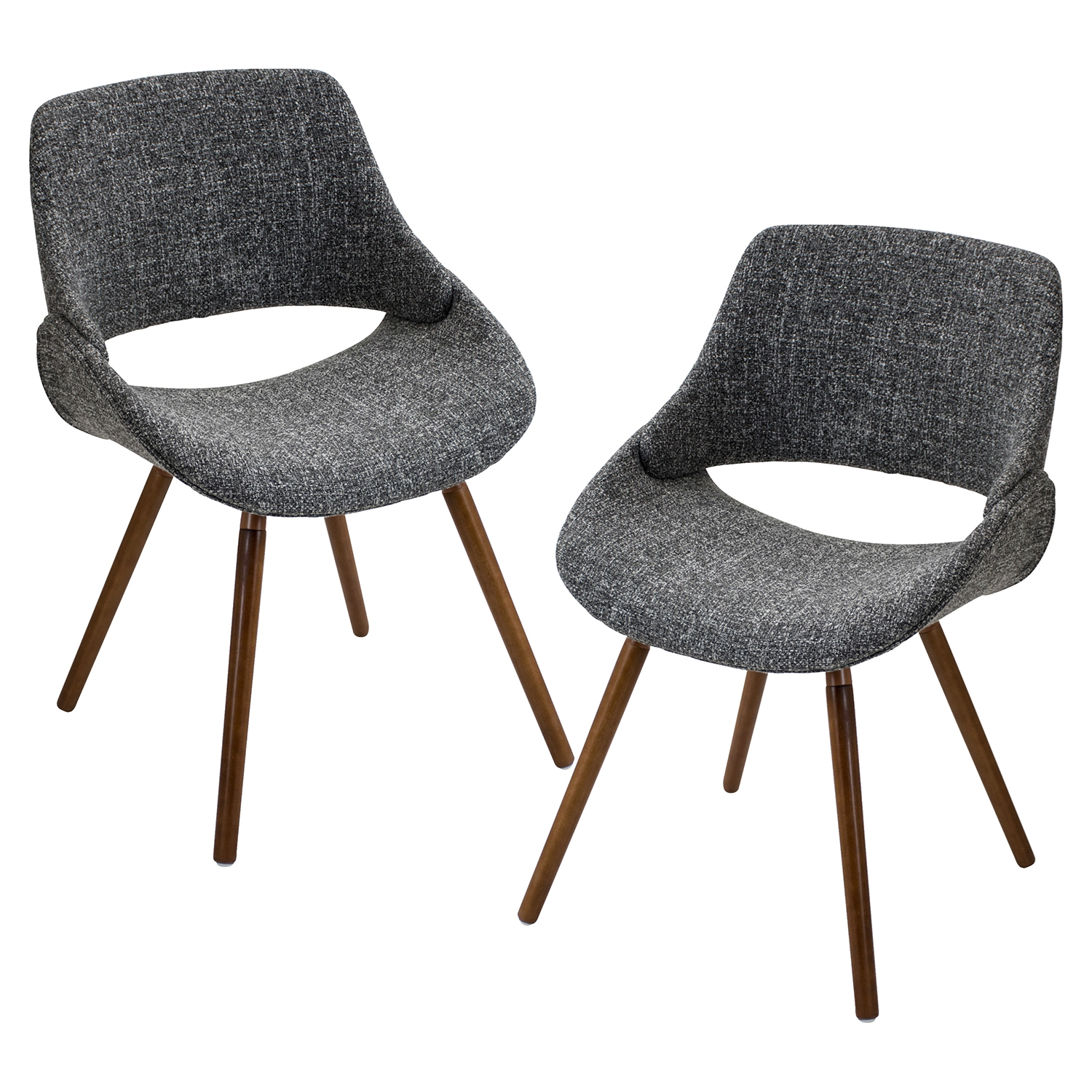 Fabrico Dining Chair - Gray (Set of 2) - LMS-CH-FBCO-WL-GY2