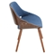 Fabrizzi Dining Chair - Denim Blue - LMS-CH-FBZZ-WL-BU