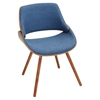 Fabrizzi Dining Chair - Denim Blue