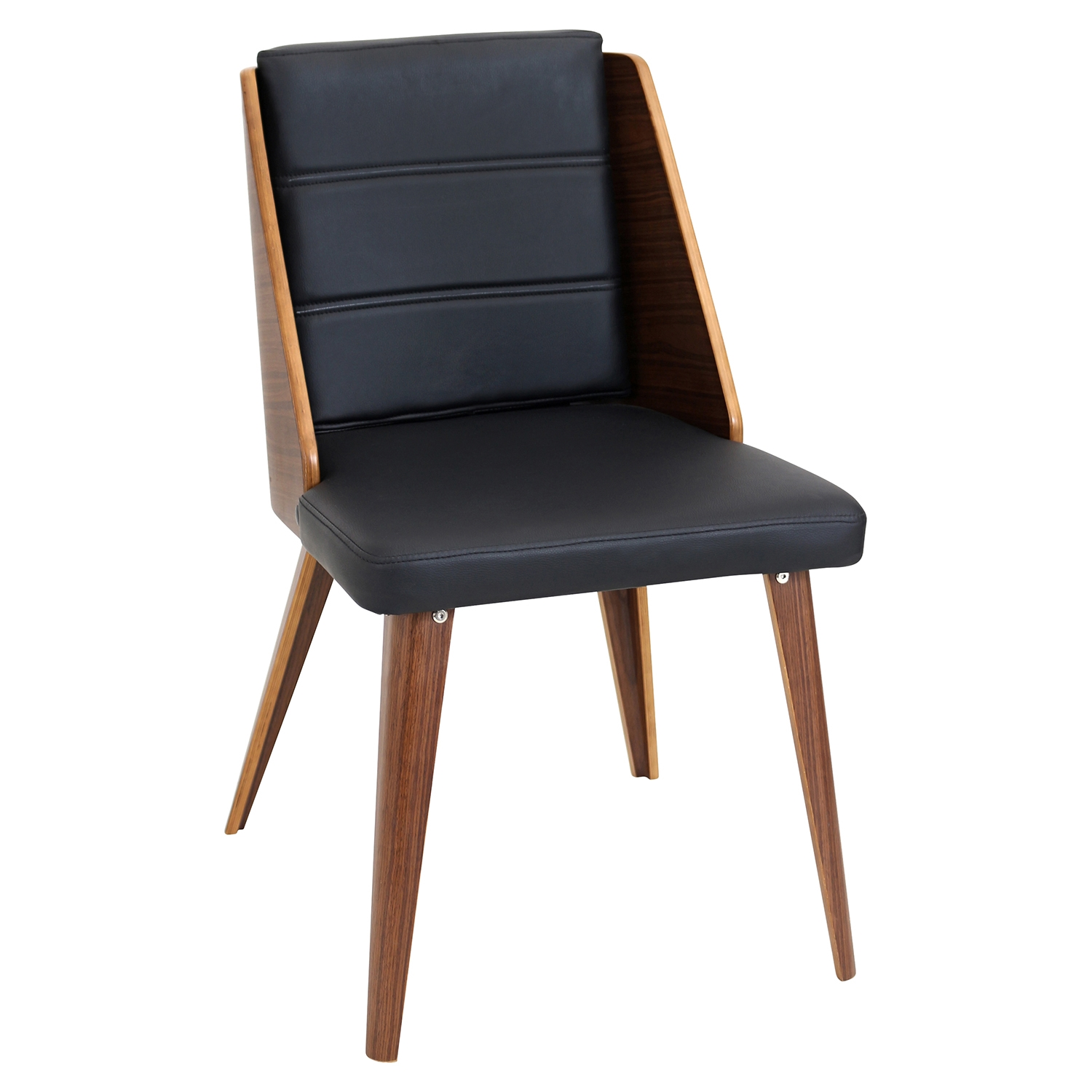 Galanti Dining Chair - Black (Set of 2) - LMS-CH-GAL-WL-BK2