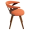 Gardenia Dining Chair - Orange - LMS-CH-GARD-WL-O