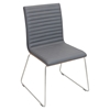 Mara Side Chair - Gray (Set of 2)