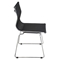 Mirage Stackable Dining Chair - Black (Set of 2) - LMS-CH-MIRAGE-BK2