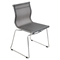 Mirage Stackable Dining Chair - Silver (Set of 2) - LMS-CH-MIRAGE-SV2