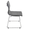 Master Stackable Dining Chair - Gray (Set of 2) - LMS-CH-MSTR-GY-K2