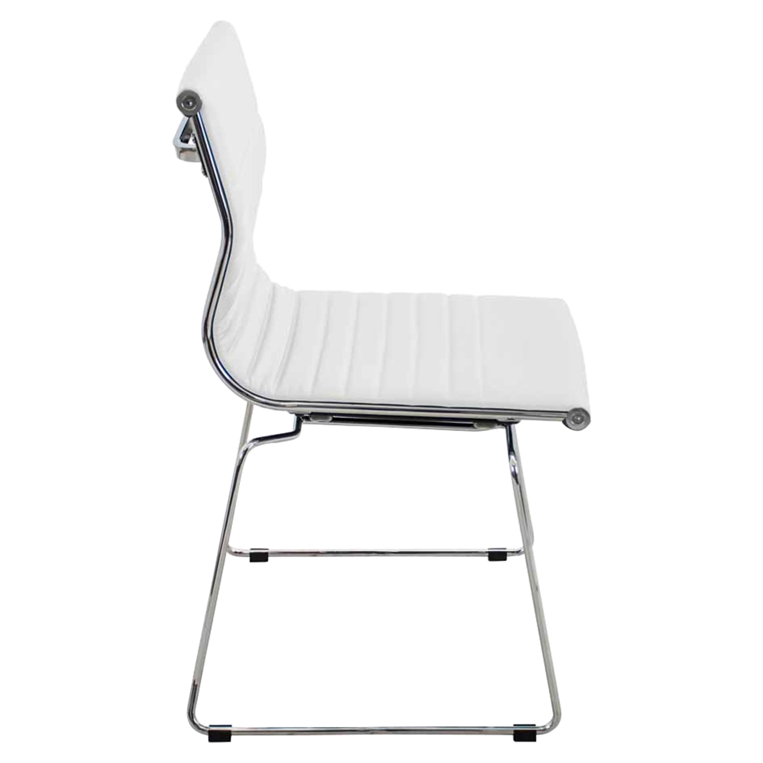 Master Stackable Dining Chair - White (Set of 2) - LMS-CH-MSTR-W-K2