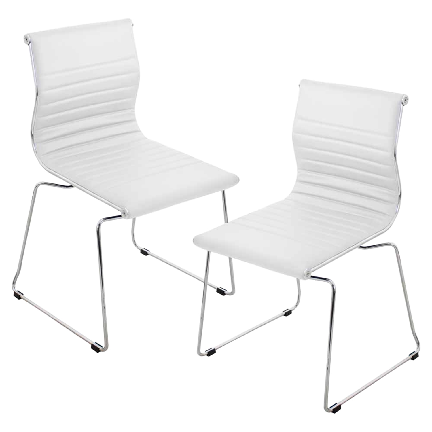 Master Stackable Dining Chair - White (Set of 2)