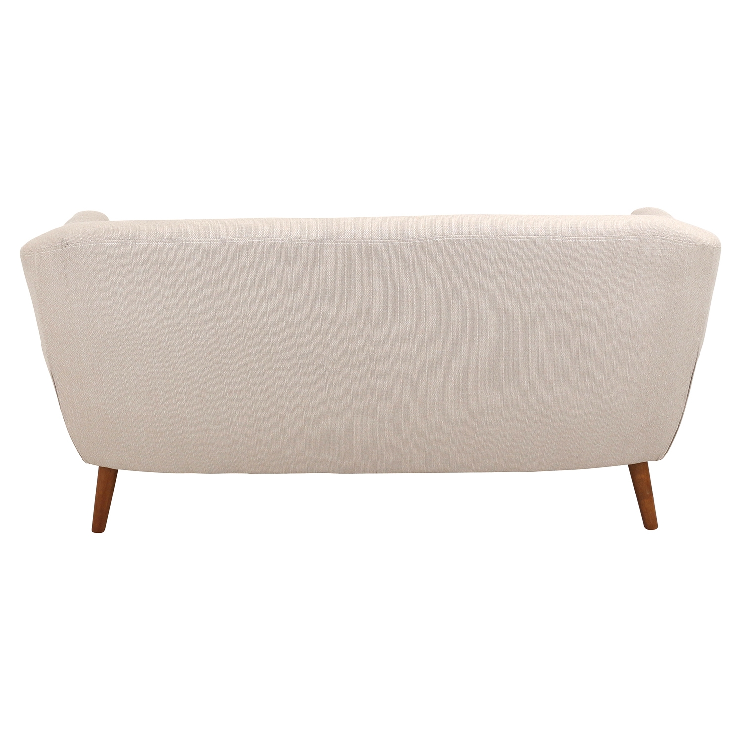 Rockwell Upholstery Sofa - Button Tufted, Beige - LMS-CHR-AH-RK58-BG