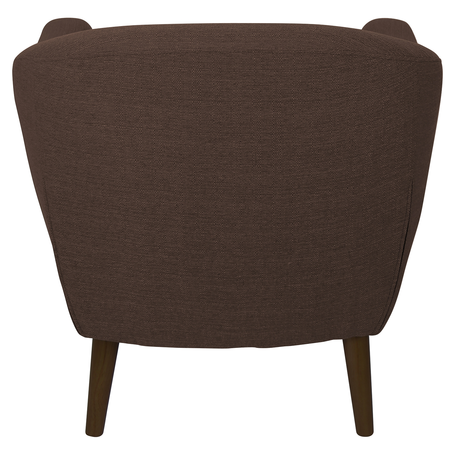 Rockwell Upholstery Armchair - Button Tufted, Espresso - LMS-CHR-AH-RKWL-ESP