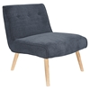 Vintage Neo Upholstery Accent Chair - Blue