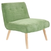 Vintage Neo Upholstery Accent Chair - Green