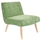 Vintage Neo Upholstery Accent Chair - Green - LMS-CHR-AH-VNEO-GN