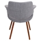 Vintage Flair Chair - Light Gray - LMS-CHR-JY-VFL-LGY