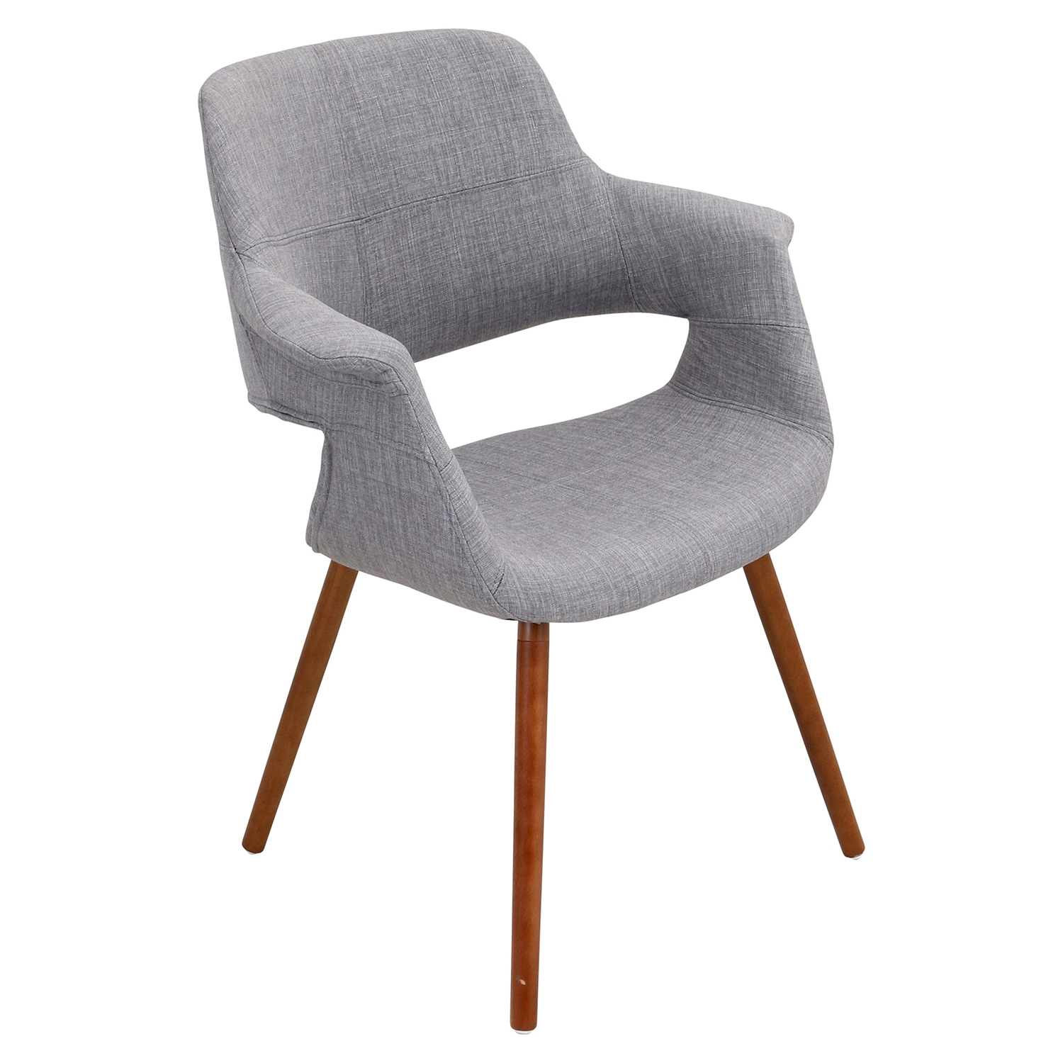 Vintage Flair Chair - Light Gray