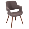 Vintage Flair Chair - Walnut, Medium Brown
