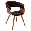 Vintage Mod Chair - Walnut, Espresso
