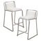Cascade Stackable Counter Stool - White (Set of 2) - LMS-CS-CASC-W2