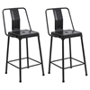Energy Counter Stool - Carbon Black (Set of 2)