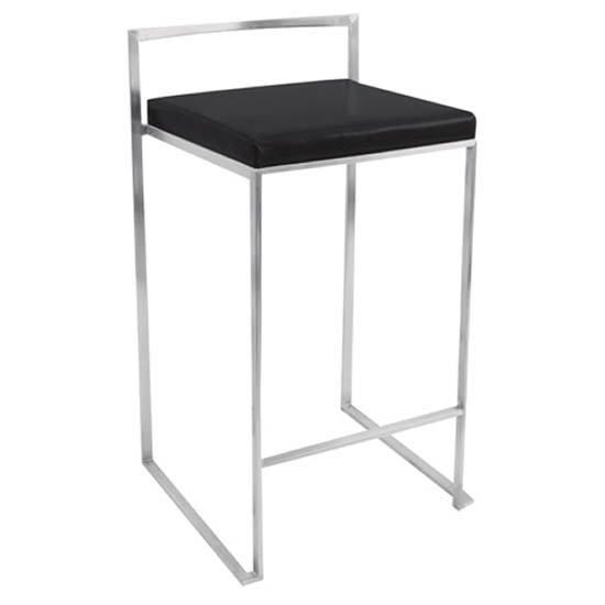Fuji Modern Stackable Counter Stool (Set of 2) - LMS-CS-FUJI