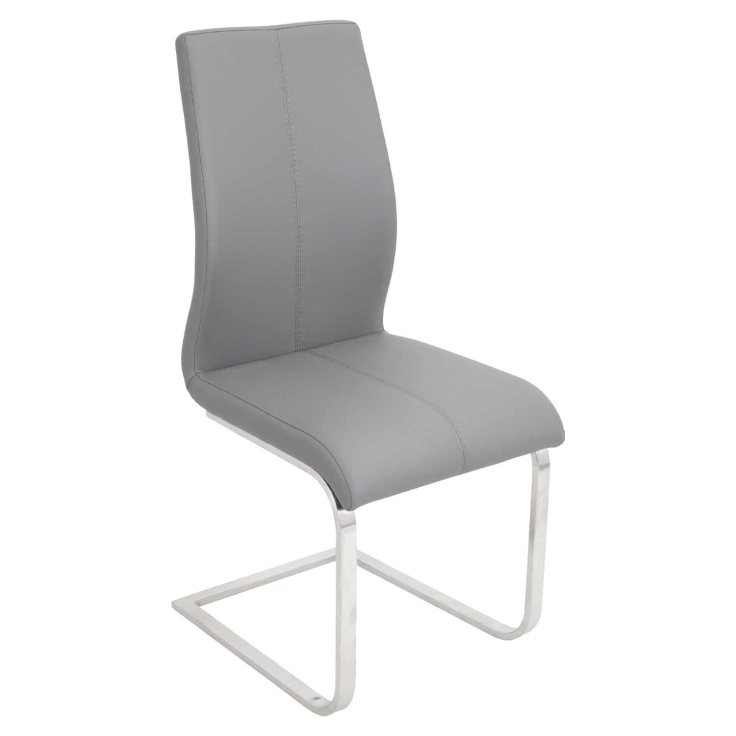 Dynasty Dining Chair - Gray (Set of 2)