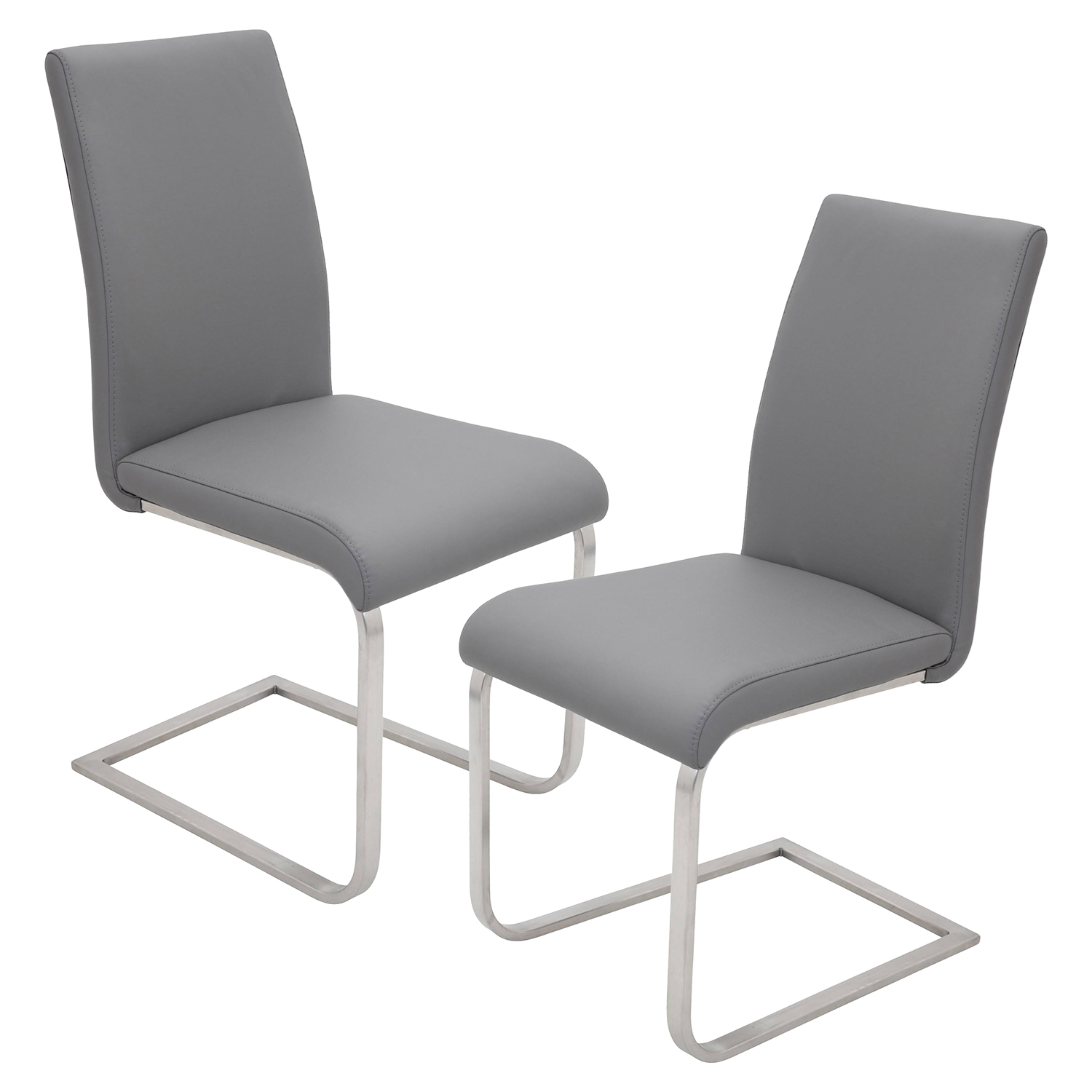 Foster Dining Chair - Gray (Set of 2)