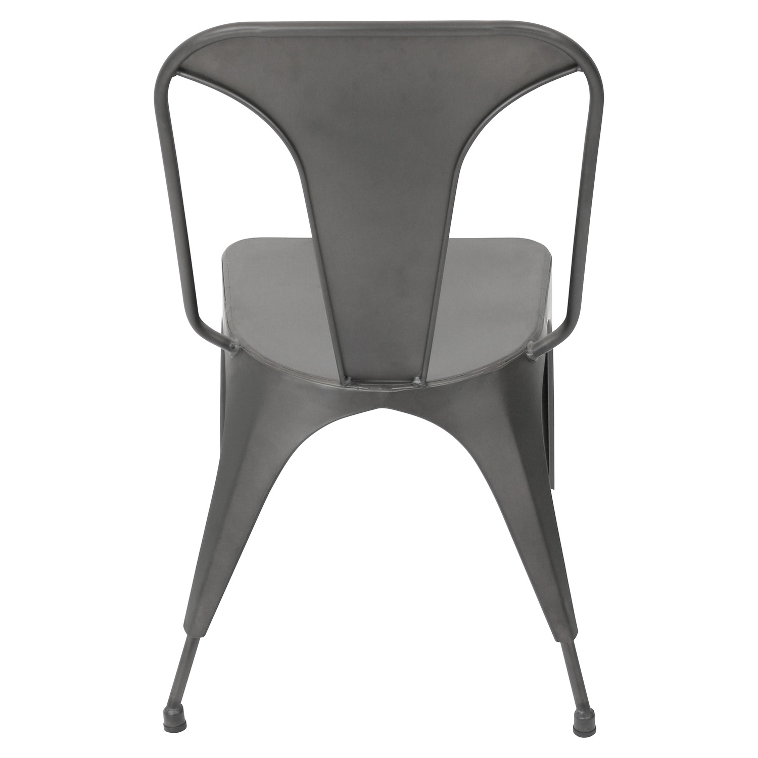 Austin Dining Chair - Matte Gray (Set of 2) - LMS-DC-TW-AU-GY2