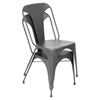 Austin Dining Chair - Matte Gray (Set of 2)