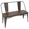 Oregon Dining Bench - Antique, Espresso
