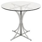 Boro Round Dining Table - Pedestal Base
