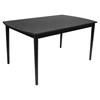 Tintori Rectangular Dining Table - Black