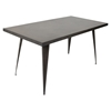 Austin Rectangular Dining Table - Antique
