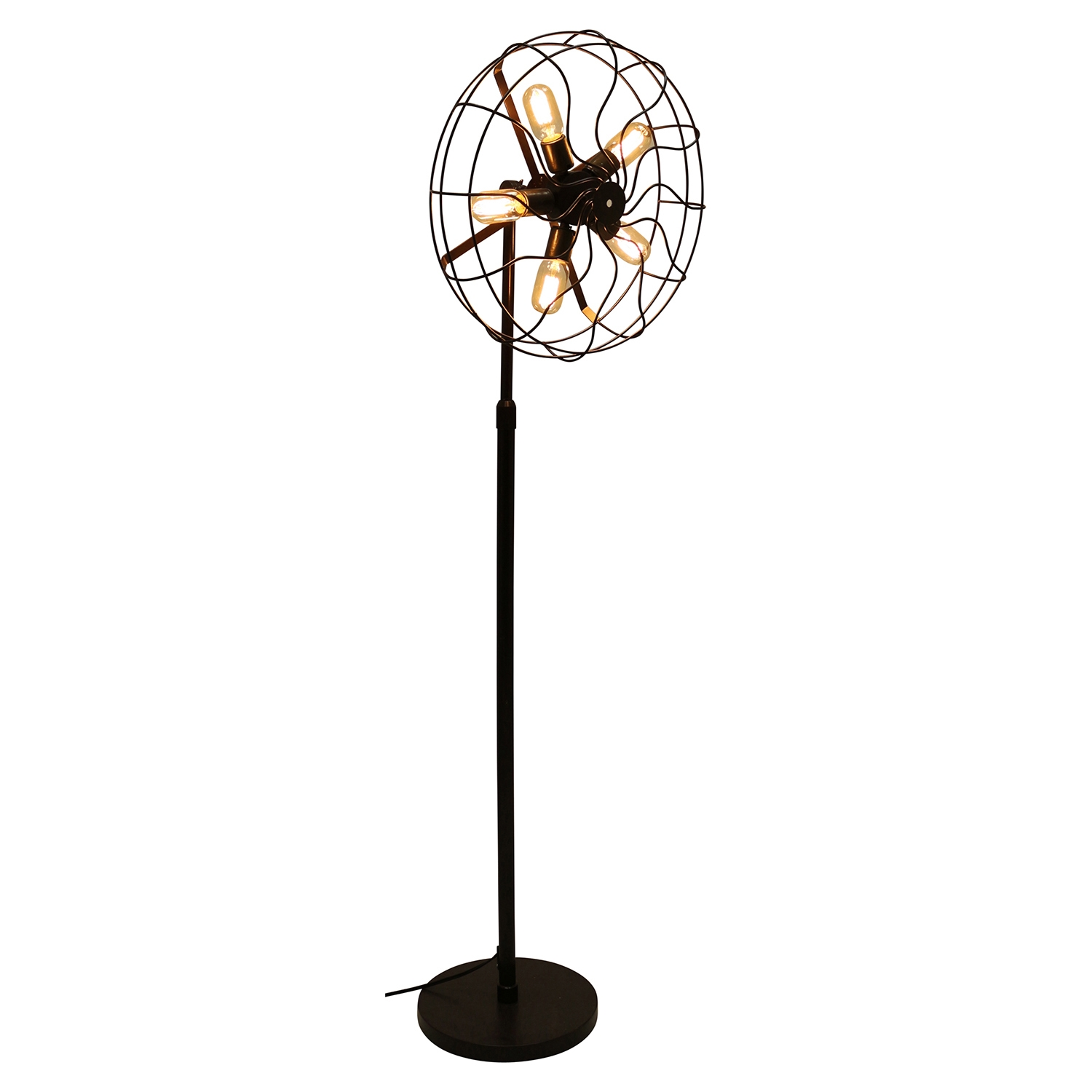 Ozzy Floor Lamp - Antique Finish