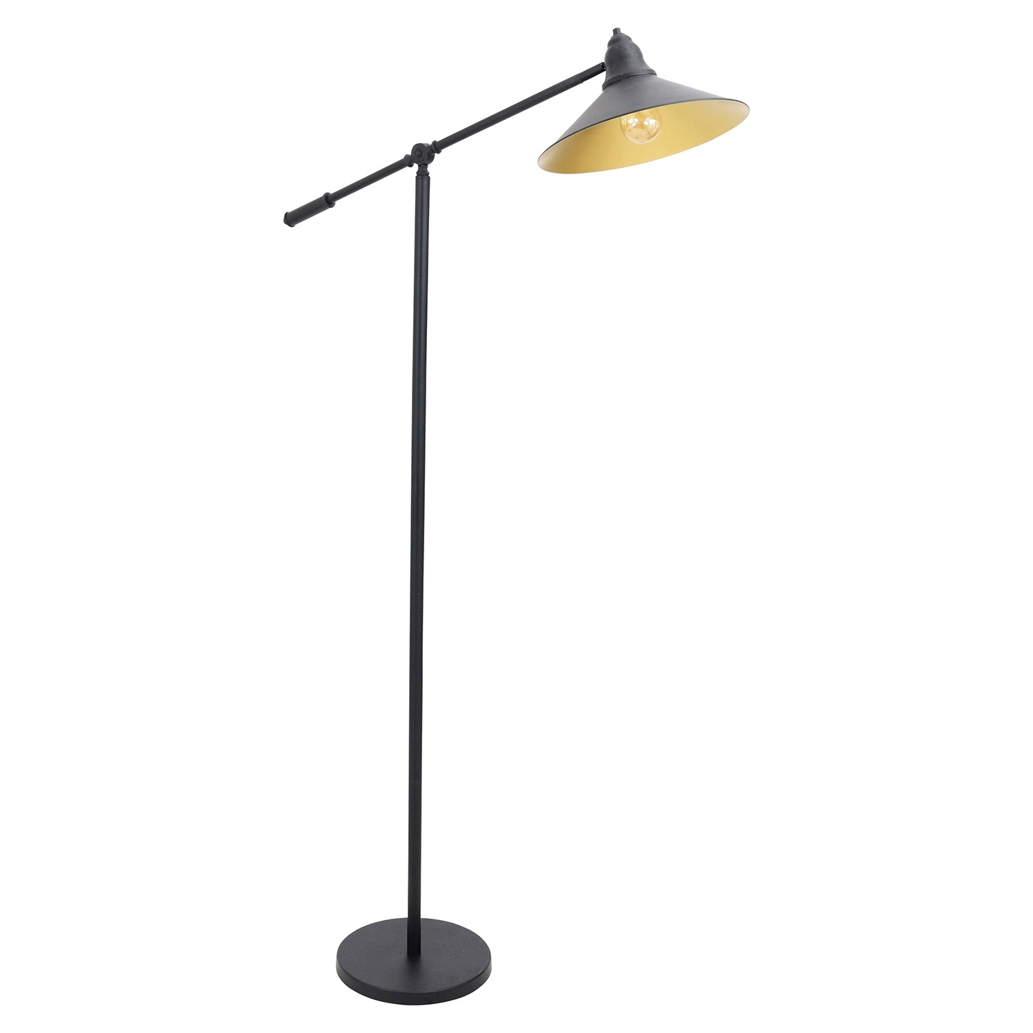 Paddy Floor Lamp - Black, Gold