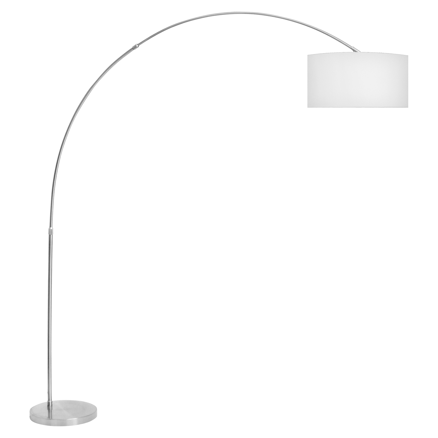 Salon Floor Lamp - White