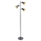 Tres Floor Lamp - Black, Gold - LMS-LS-L-TRESFL-BK