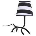 Woof Table Lamp - Black, White