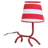 Woof Table Lamp - Red, White