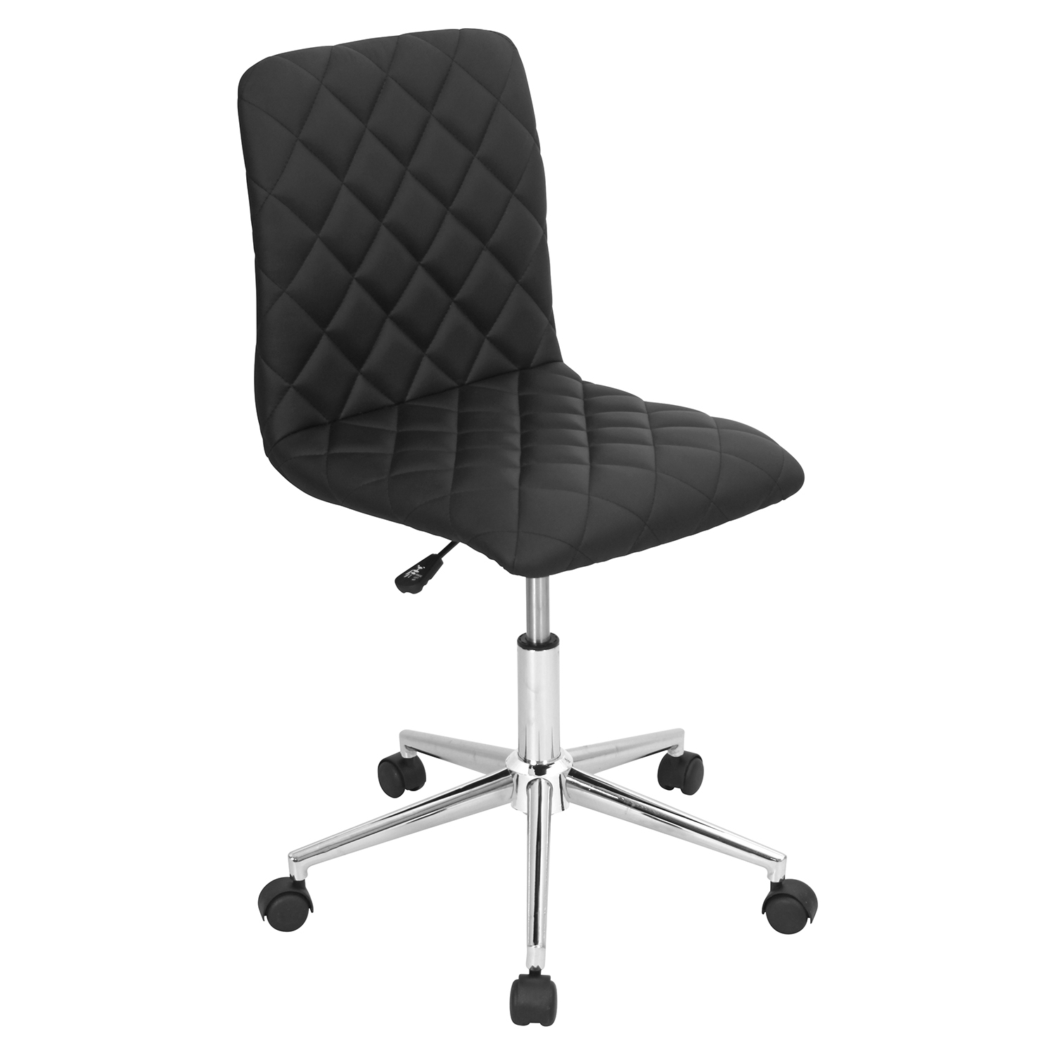 Caviar Height Adjustable Office Chair - Swivel, Black