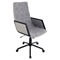 Governor Height Adjustable Office Chair - Swivel, Black - LMS-OFC-AC-GV-BK-T