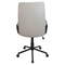 Governor Height Adjustable Office Chair - Swivel, Tan - LMS-OFC-AC-GV-T-T