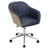 Shelton Office Chair - Tan, Navy