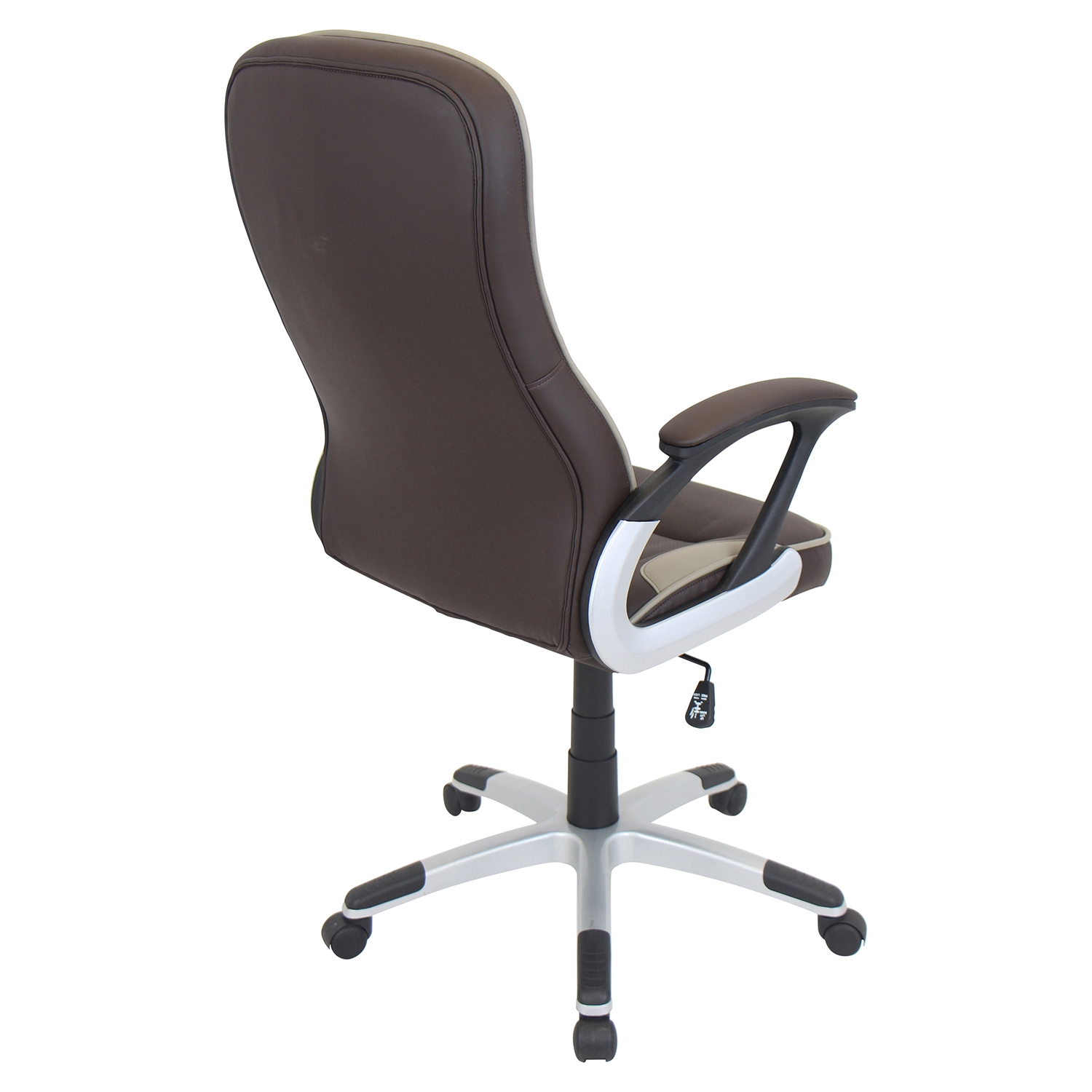 Storm Height Adjustable Office Chair - Swivel, Brown - LMS-OFC-AC-STORM-BN