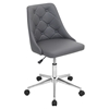 Marche Height Adjustable Office Chair - Swivel, Gray