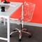 Swiss Clear Acrylic Office Chair - LMS-OFC-TW-SWISS-CL